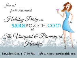 2014 Holiday Party with SaraBozich.com