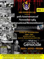 30th Anniversary of November 1984 International...