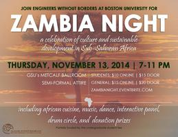 Zambia Culture Night 2014