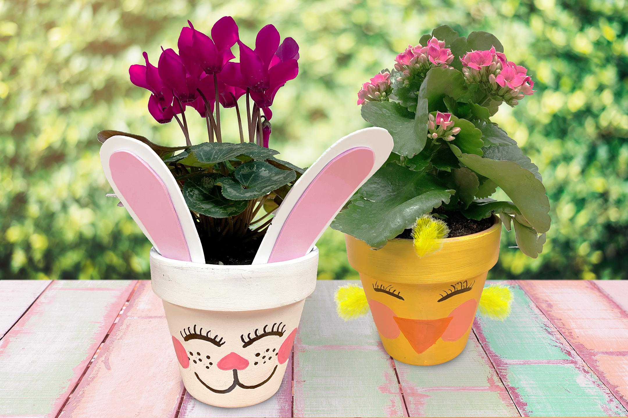 Easter Workshop for Kids - Painted Flower Pot: Frankfort, IL