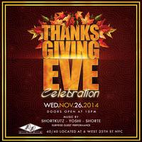 4040 Club Thanksgiving Eve Party