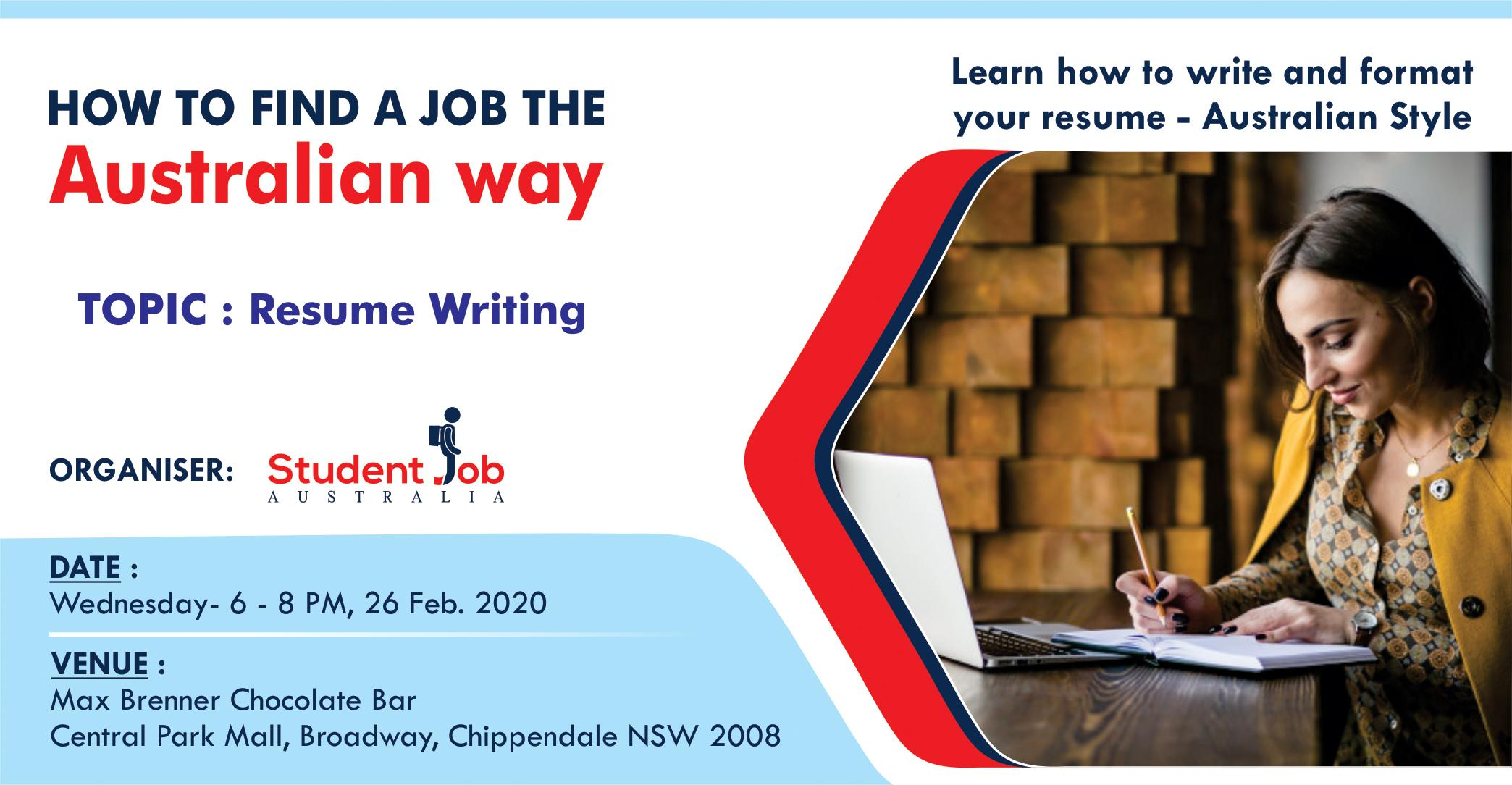 Find A Job The Australian Way 24 Feb 2020
