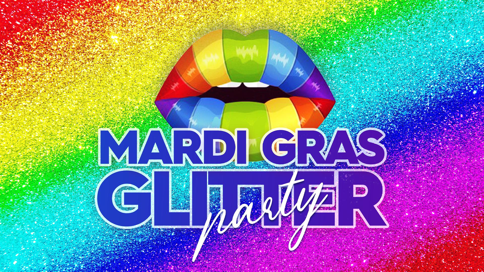 Mardi Gras Glitter Party