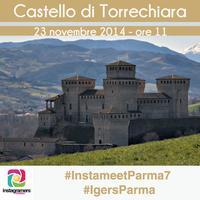 Nel medioevo di Torrechiara con @igersparma