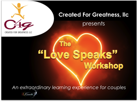 """Love Speaks"" Workshop for Couples"