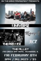 UNiVERSE / THE PRELUDE / KEEP 7 / JKZ - LIVE @ THE...