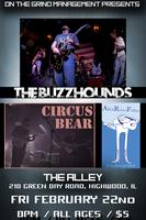THE BUZZHOUNDS & CIRCUS BEAR @ THE ALLEY (2/22/13)