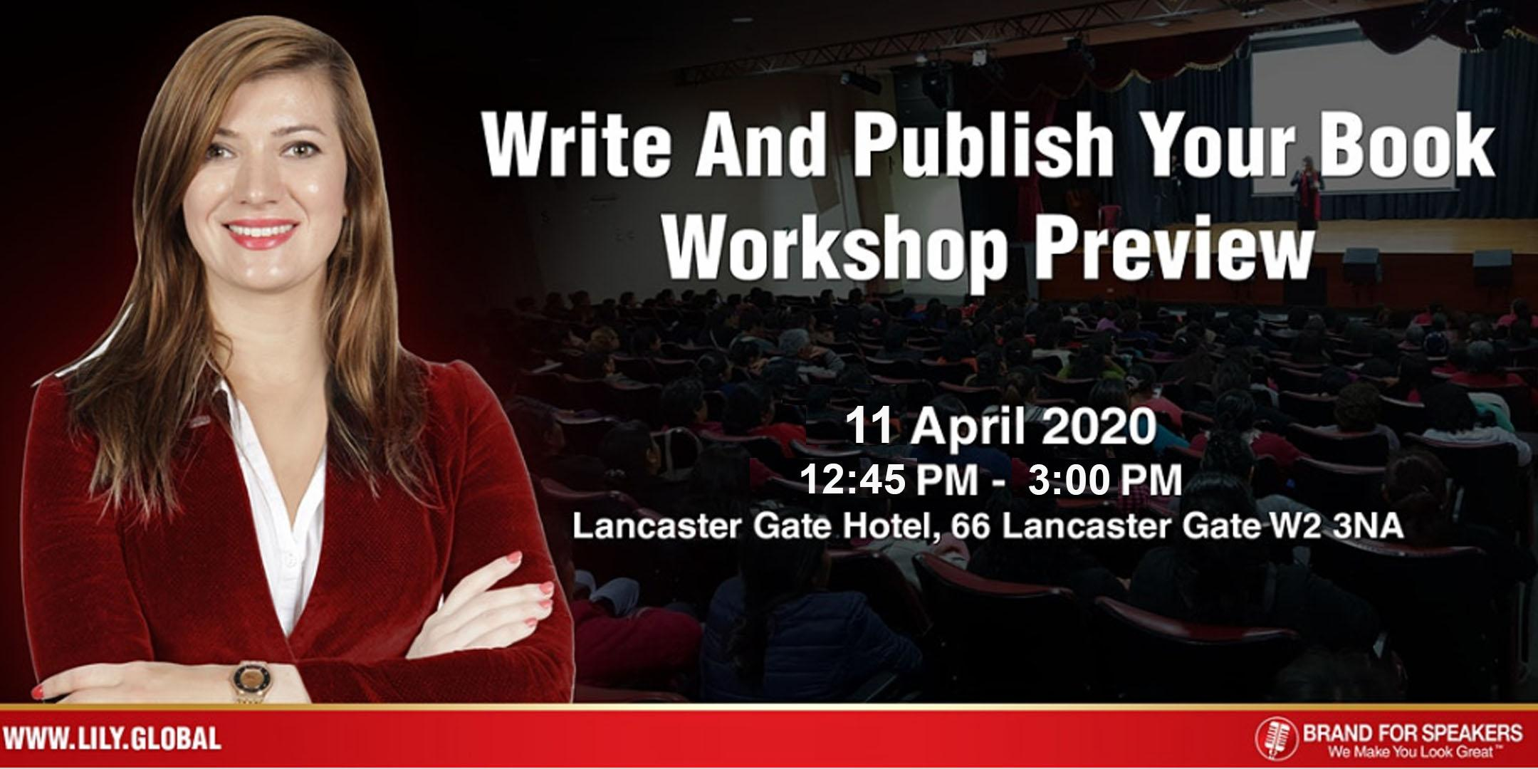Got No Time But Want To Become An Author?11 April 2020 Noon
