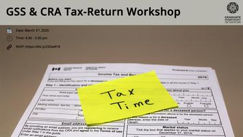 GSS and CRA Info Session-Tax Return