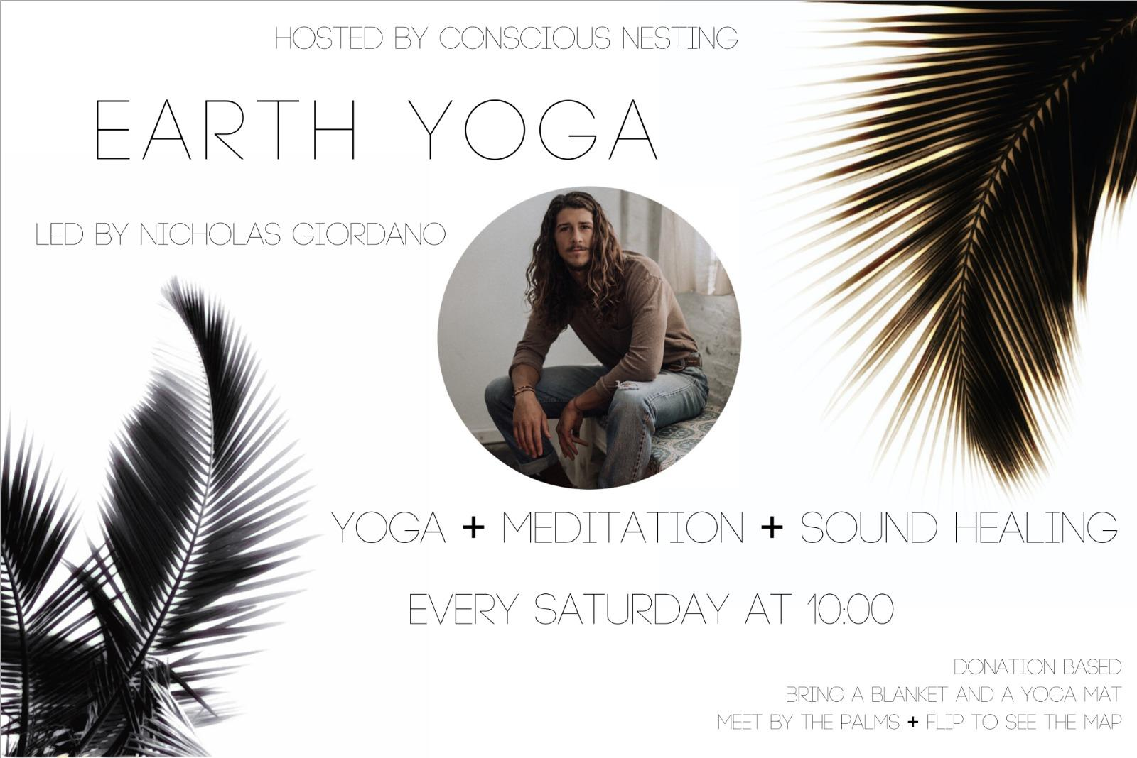 Earth Yoga Meditation Sound Healing on Mission Bay