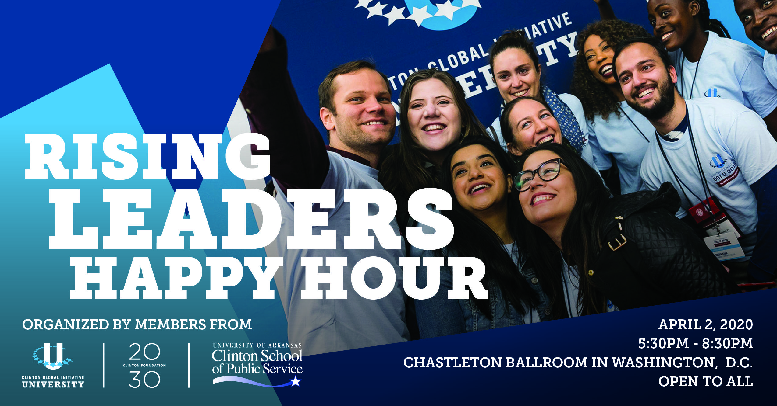 Clinton Foundation Rising Leaders Happy Hour