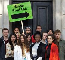 Slade Print Fair 2014: Students, Family & Friends...