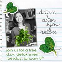 Get Clean in 2013 - FREE DIY Detox Discussion