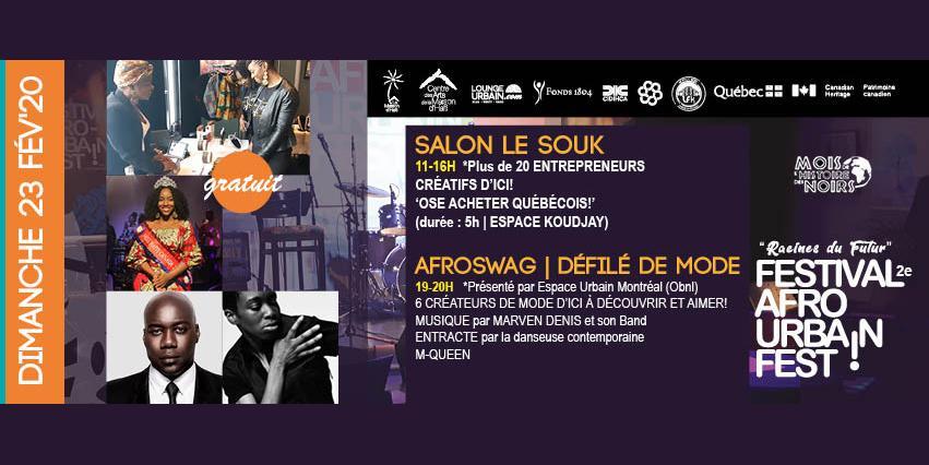 Afroswag | Défilé de monde - Festival Afro urbain 2020