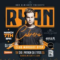 Ryan Cabrera Playing LIVE DTSP at Marquee