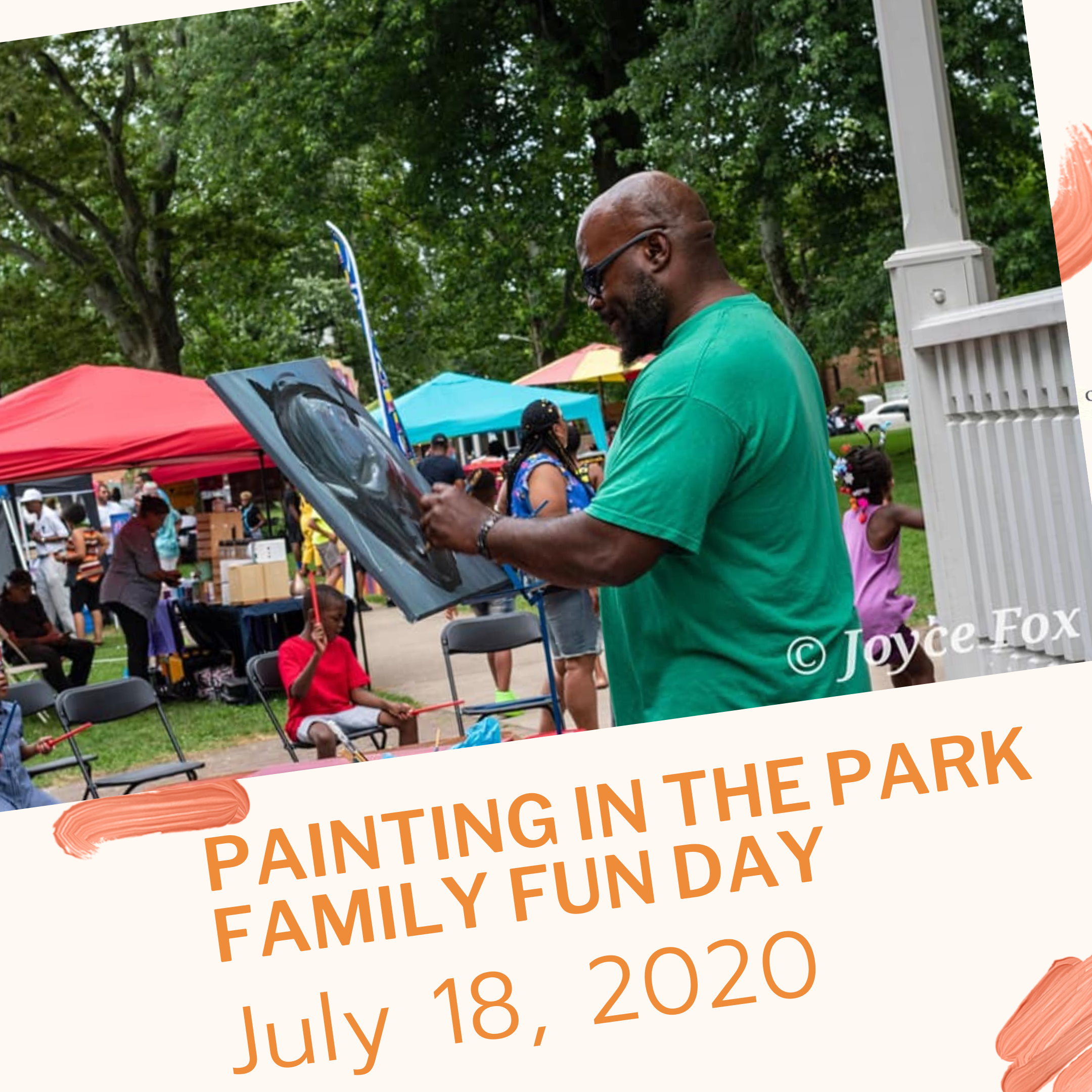 Christmas In July Cleveland 2020 6th Annual Painting in the Park Family Fun Day: Christmas in July