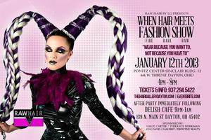 RAW HAIR by LG presents When Hair Meets Fashion Show