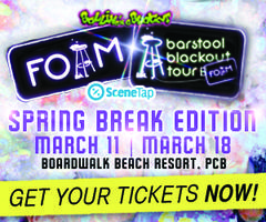 BarstoolU Foam Party Spring Break ed. Presented by...
