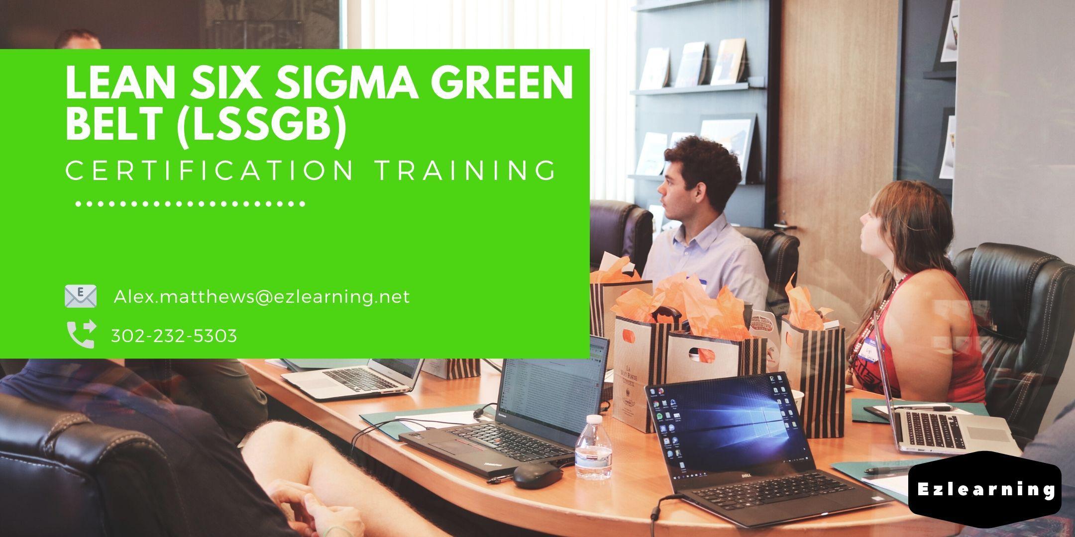 Lean Six Sigma Green Belt Certification Training in Waco, TX