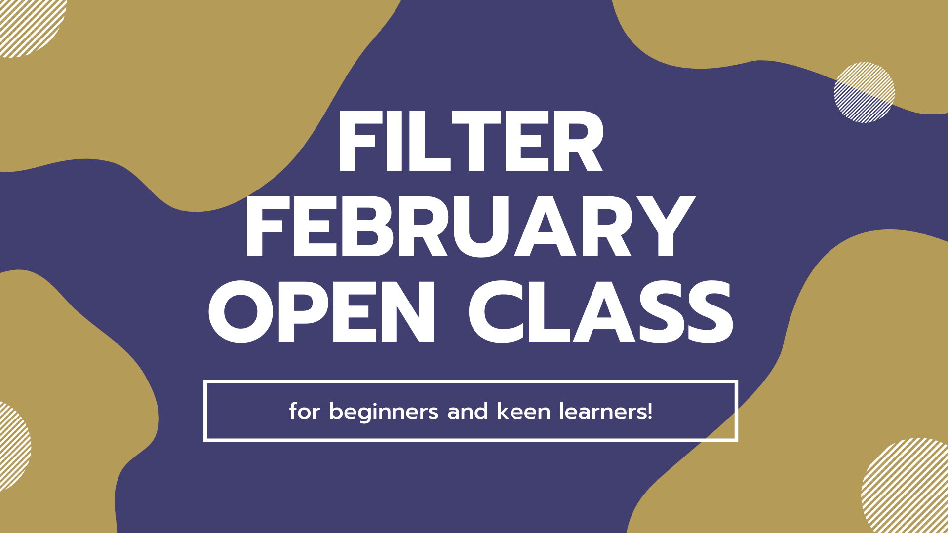 Filter February (OPEN CLASS)