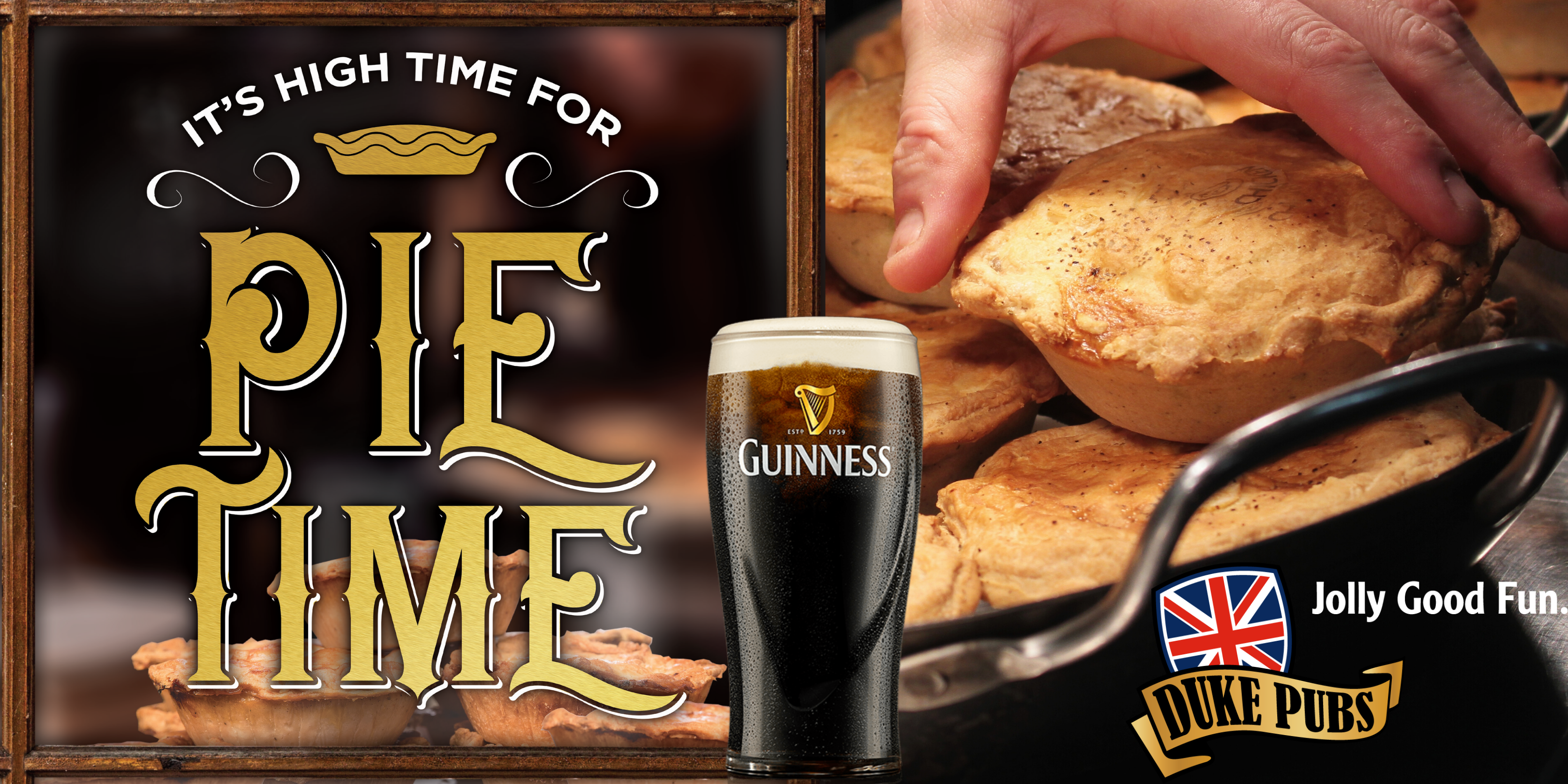 Free Samples of Guinness, Live Music and Complimentary Mini Pot Pies!