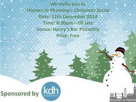 Women in Planning Christmas Social 2014
