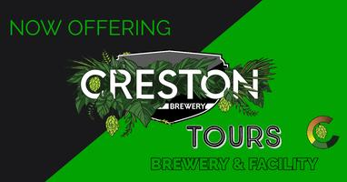 Creston Brewery Tours: Brewery and Facility Tour. Beer...