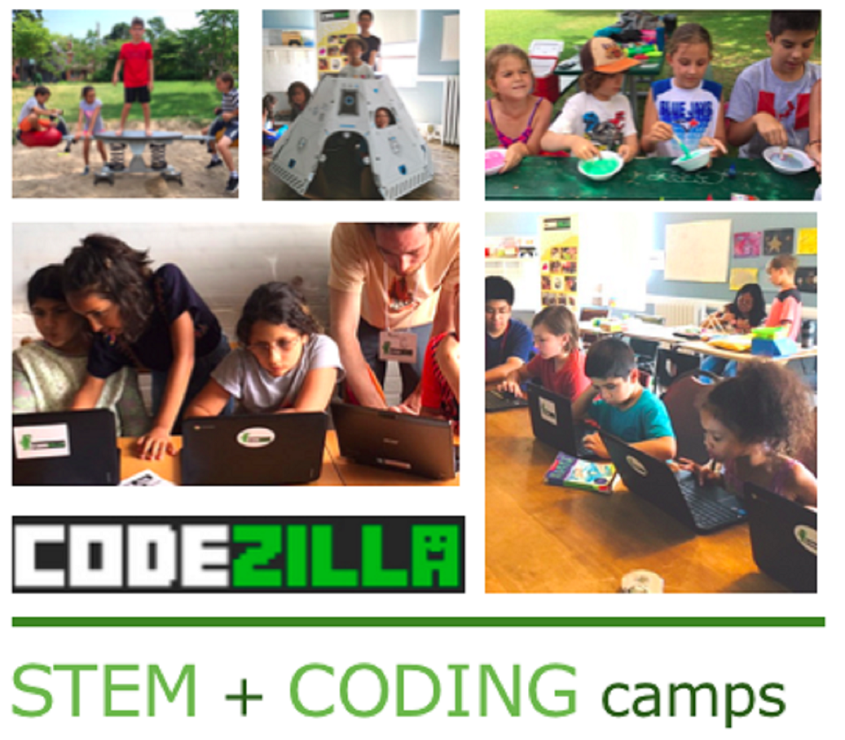 [LEDBURY] Aug 4-7 Summer Camp | Space Makers (6-10) -OR- Game Makers Coding Level 1/2 (8-14)