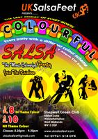 Colourful Salsa Party (Christmas Bling)