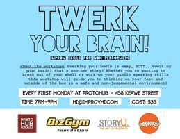 Twerk Your Brain w/ Kimee Balmilero (Improv Skills for...