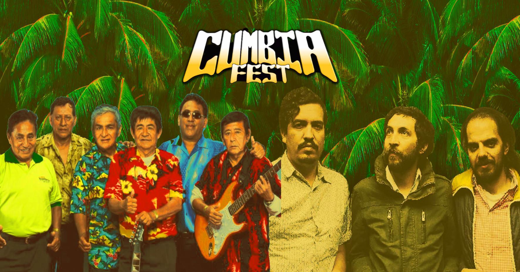 Cumbia Fest w/ Los Wemblers (Peru) & Los Pirañas (Mexico) live!