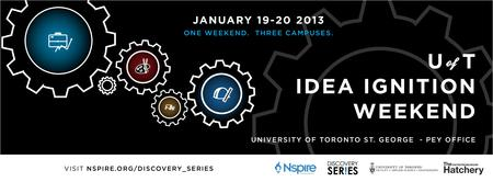 Discovery Series Toronto: Idea Ignition Weekend