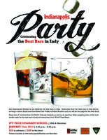 Indianapolis Monthly Best Bars Party