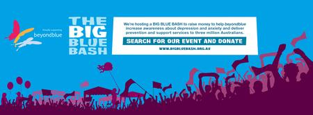 Beachmere's Big Blue Bash Charity Event