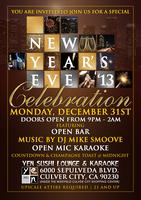 New Year's Eve 2013 Celebration
