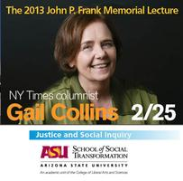ASU's 14th annual John P. Frank Memorial Lecture...