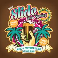 Slide into Spring Music and Craft Beer Festival