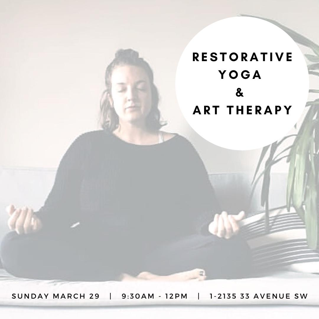 Restorative Yoga and Art Therapy