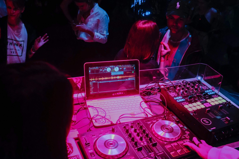 DJ Set at Secret Tiny Venue