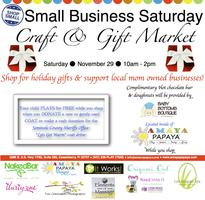 Small Business Saturday Craft and Gift Market