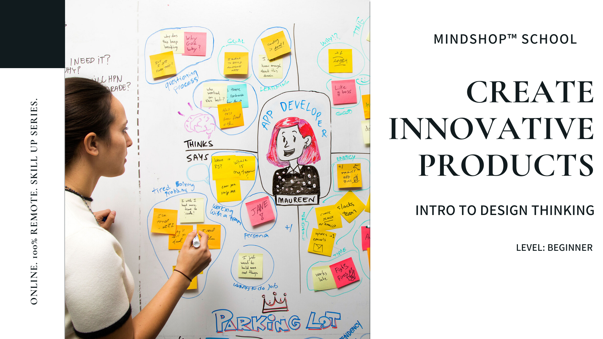 ONLINE MINDSHOP™| Create Better Products by Design Thinking