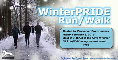 WinterPRIDE 5K Run/Walk hosted by Vancouver...