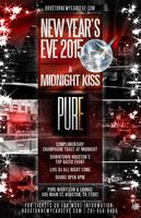 """""""A Midnight Kiss"""" New Year's Eve at PURE Downtown..."""