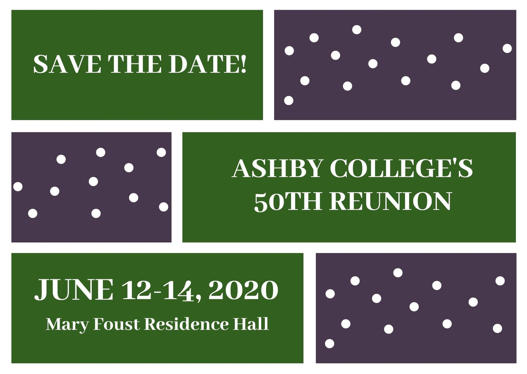 Ashby Residential College 50th Anniversary Celebration