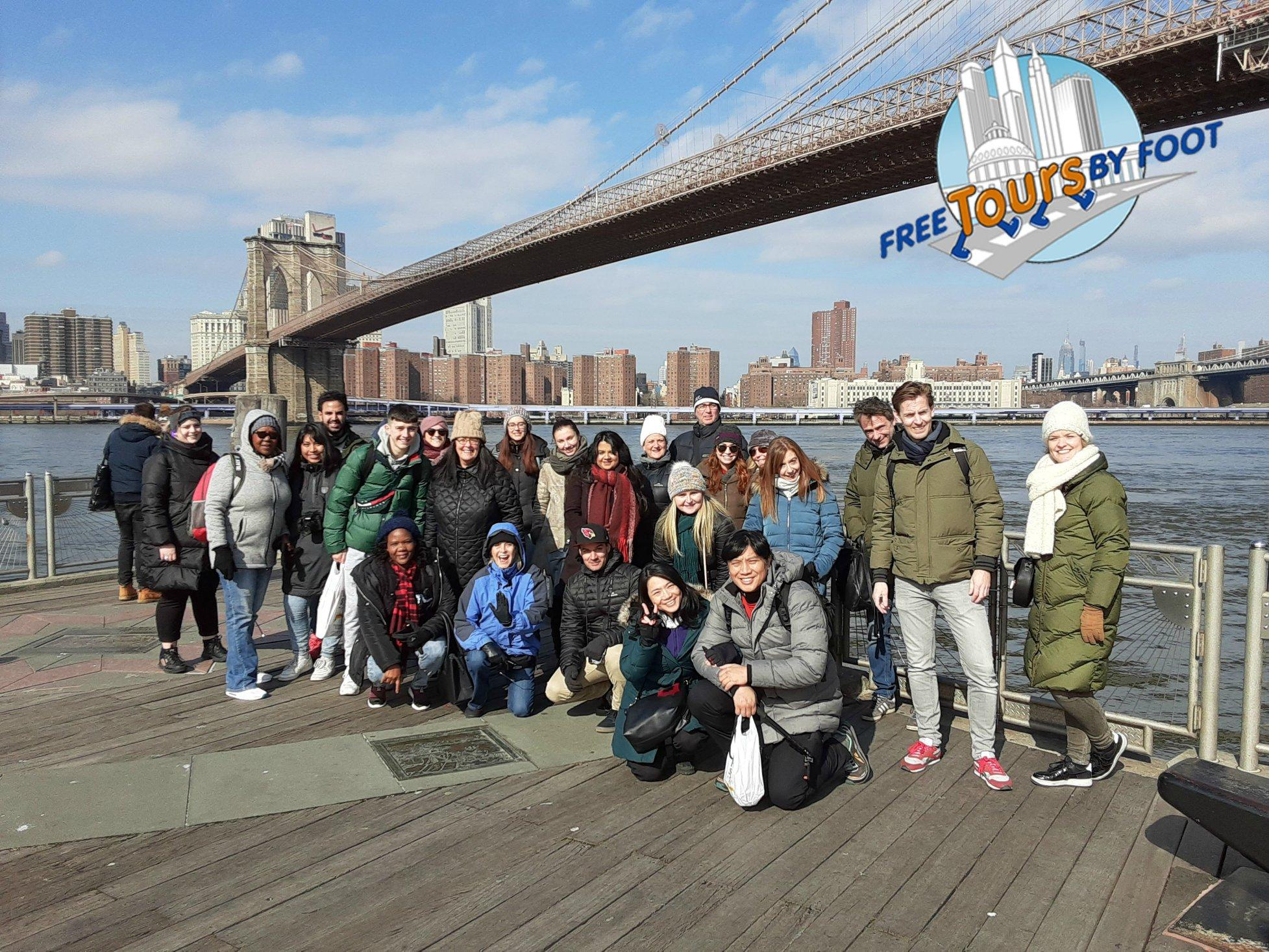 Brooklyn Bridge, Brooklyn Heights and DUMBO 9:30am Tour