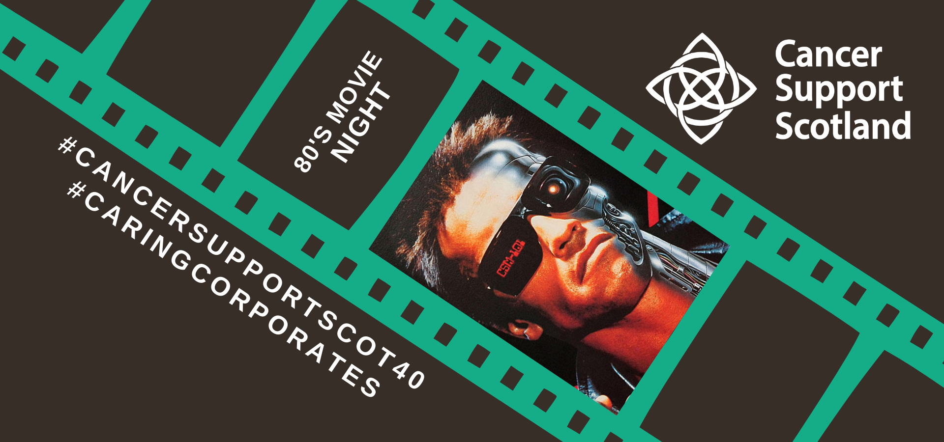 POSTPONED - 80's Movie and Networking Night - Cancer Support Scotland