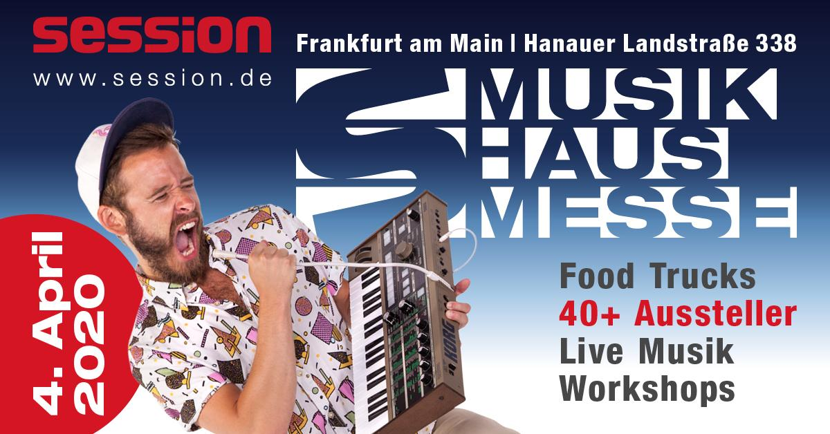 Musikhaus-Messe 2020 - session Frankfurt