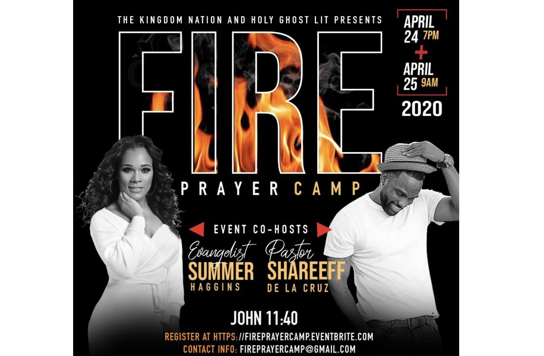 Fire Prayer Camp 24 Apr 2020