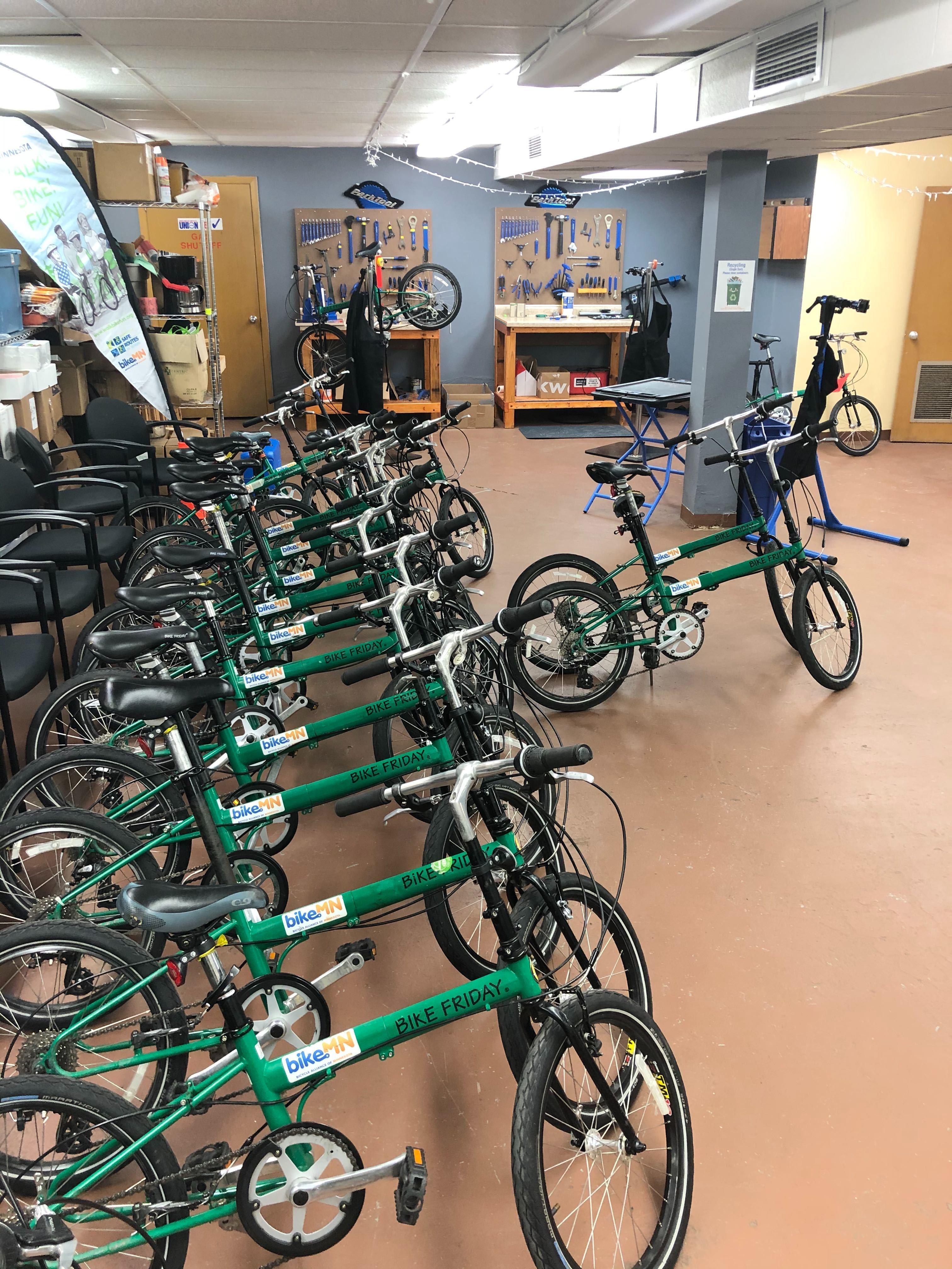 April Bike Maintenance Training Courses
