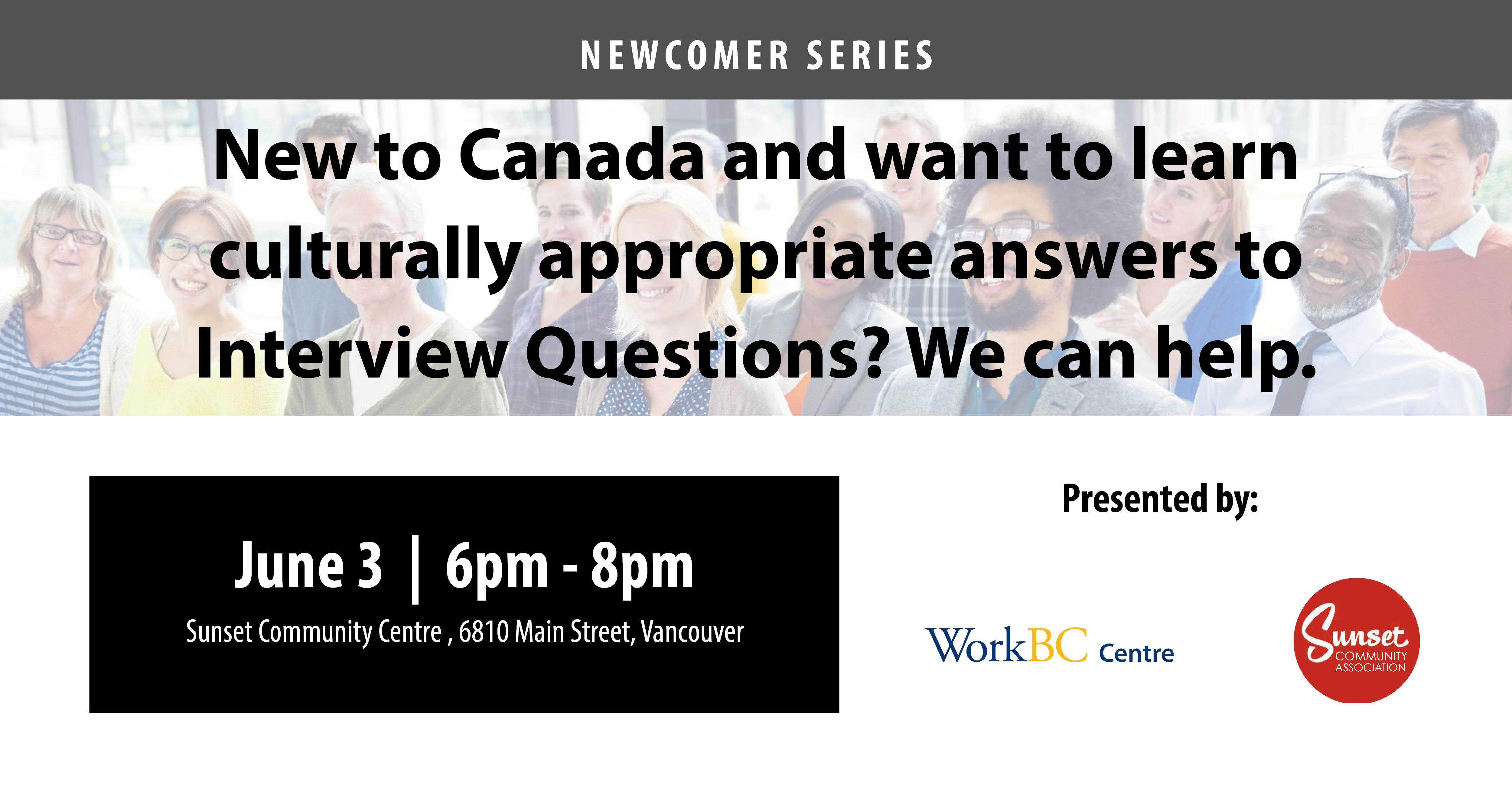 Culturally Appropriate Answers to Interview Questions: A Free Workshop
